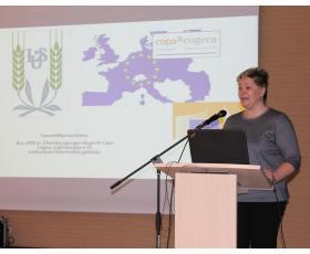 COPA-COGECA organizacijos ekspertė Vytautė Matusevičienė.